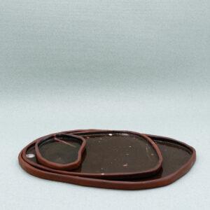 sofiedecleene-keramiek-bord-bruin-2