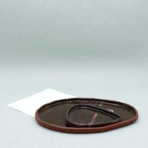 sofiedecleene-keramiek-bord-bruin-1