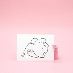 sofiedecleene-postkaart-knuffel