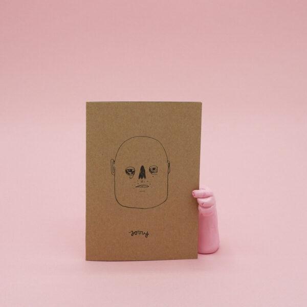 sofiedecleene-postkaart-sorry